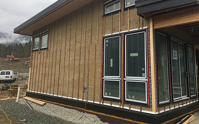 Exterior Insulation Installation